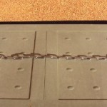 collar metalico de eslabones amplios